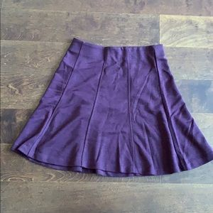 Loft size small purple skirt.  New with tags.